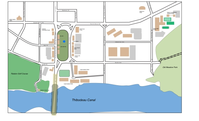 Ralston street map 1